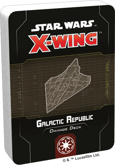 Star Wars X-Wing: 2nd Edition - Galactic Republic Damage Deck - Pre-Order