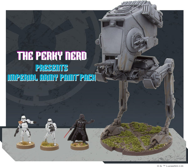 Star Wars Legion Imperial Army Paint Pack