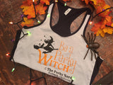 Be a Perky Witch Ringer Style Racerback Tank Top - Perky Nerd Tank