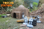 Star Wars Legion Terrain : Tosche Station - Bank STL (Digital File)