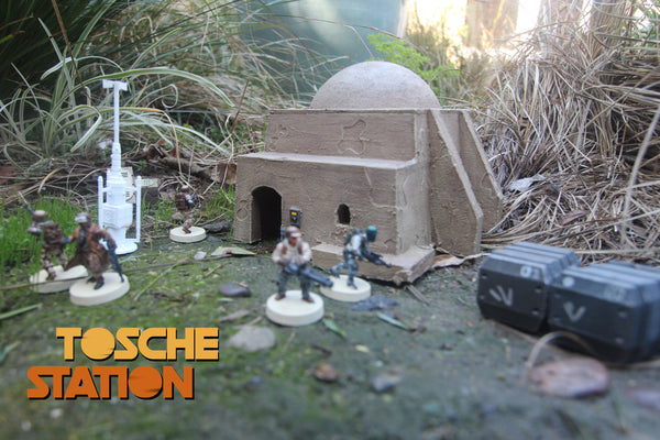 Star Wars Legion Terrain : Tosche Station - Building: Store STL (DIGITAL FILE)