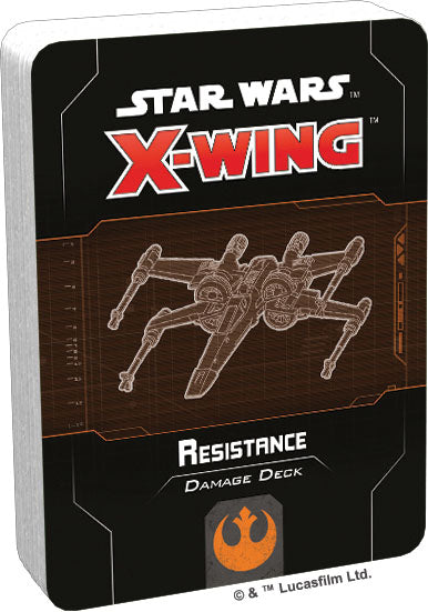 Star Wars X-Wing: 2nd Edition - Resistance Damage Deck - Pre-Order