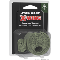 X-wing Second Edition Scum and Villainy Dial Maneuver Kit