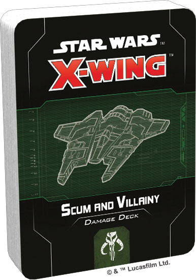 Star Wars X-Wing: 2nd Edition - Scum and Villainy Damage Deck - Pre-Order