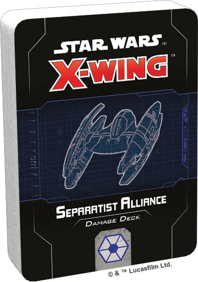 Star Wars X-Wing: 2nd Edition - Separatist Alliance Damage Deck - Pre-Order