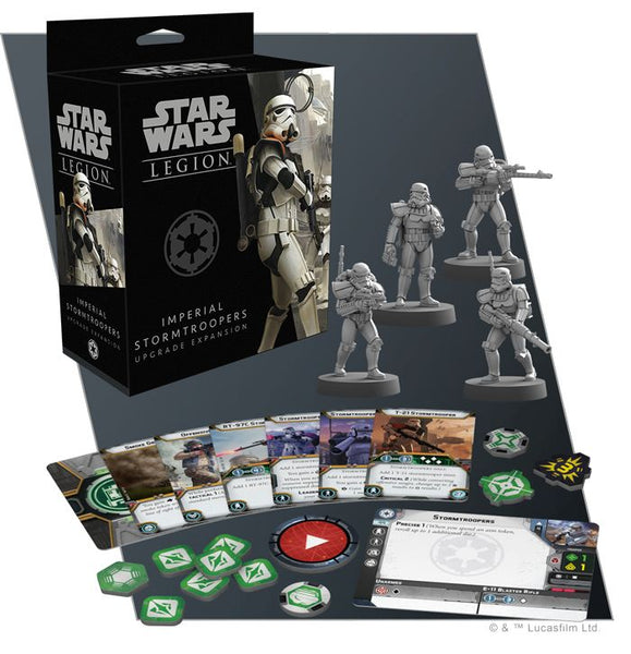 Star Wars Legion - Imperial Stormtroopers Upgrade