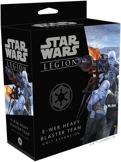 E-Web Heavy Blaster Team Unit Expansion for Star Wars: Legion