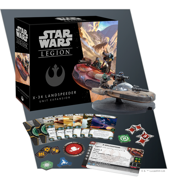 X-34 Landspeeder Unit Expansion