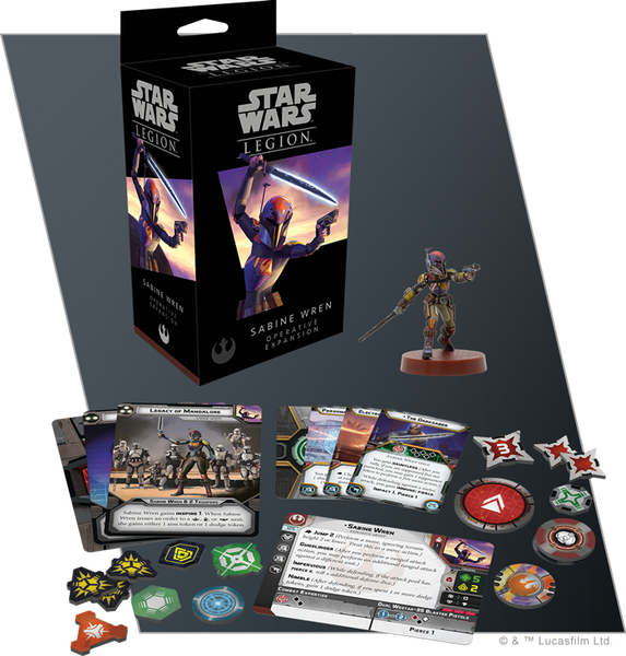 Star Wars Legion Sabine Wren Unit Expansion