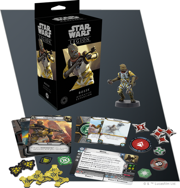 Bossk Operative Expansion for Star Wars Legion -  Pre-order
