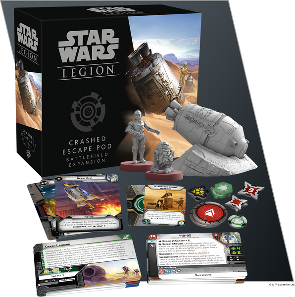 Star Wars Legion: Crashed Escape Pod Battlefield Expansion (PreOrder)
