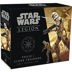 Star Wars Legion:  Phase I Clone Troopers Unit Expansion (Pre-Order)