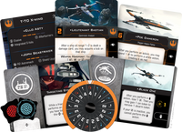 X-wing Second Edition T-70 X-Wing 2.0 Expansion Pack