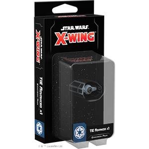 X-wing Second Edition Tie Advanced x1 Expansion Pack