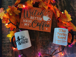 Perky Witch Bundle - (1) WITCH Sign & (1) Perky Witch Mug