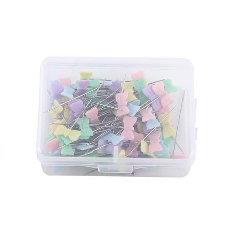 "4 Styles 100 pieces/box Quilting Sewing Pins  1 1/2"" x 1/2"""