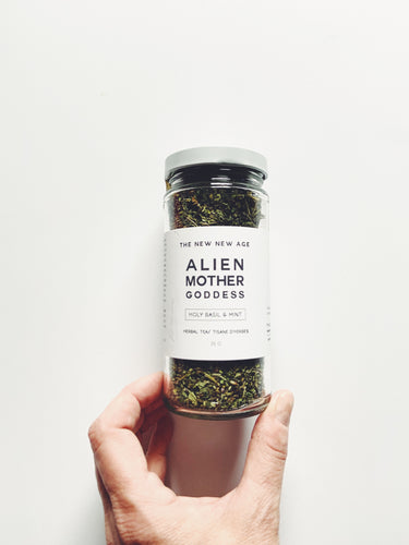 Alien Mother Goddess Tea // Holy Basil + Mint