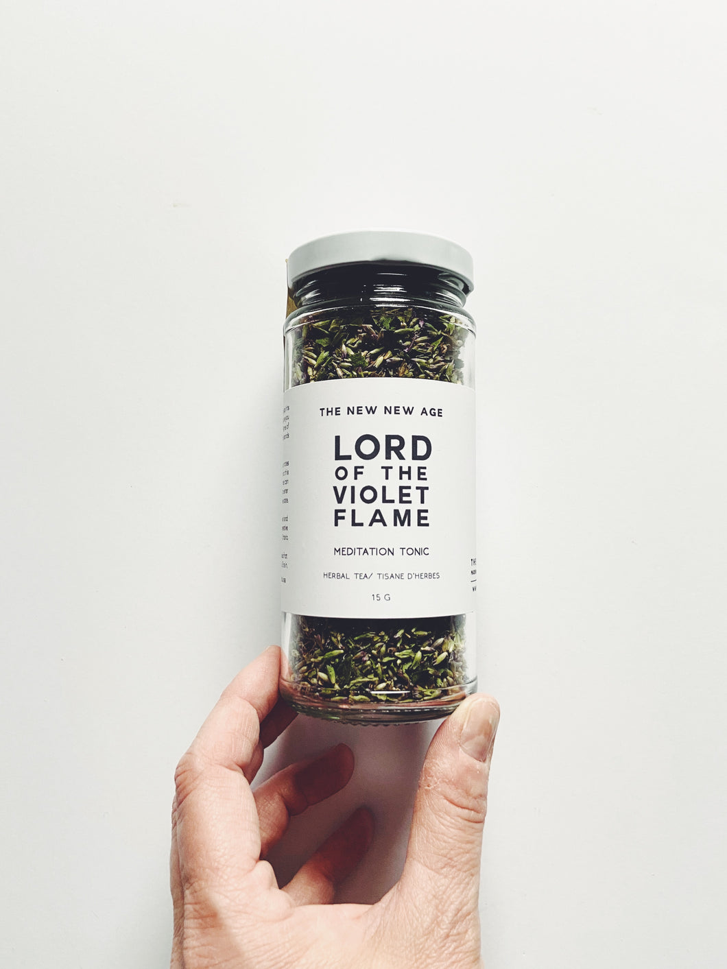 Lord of the Violet Flame Tea // Bee Balm + Anise Hyssop