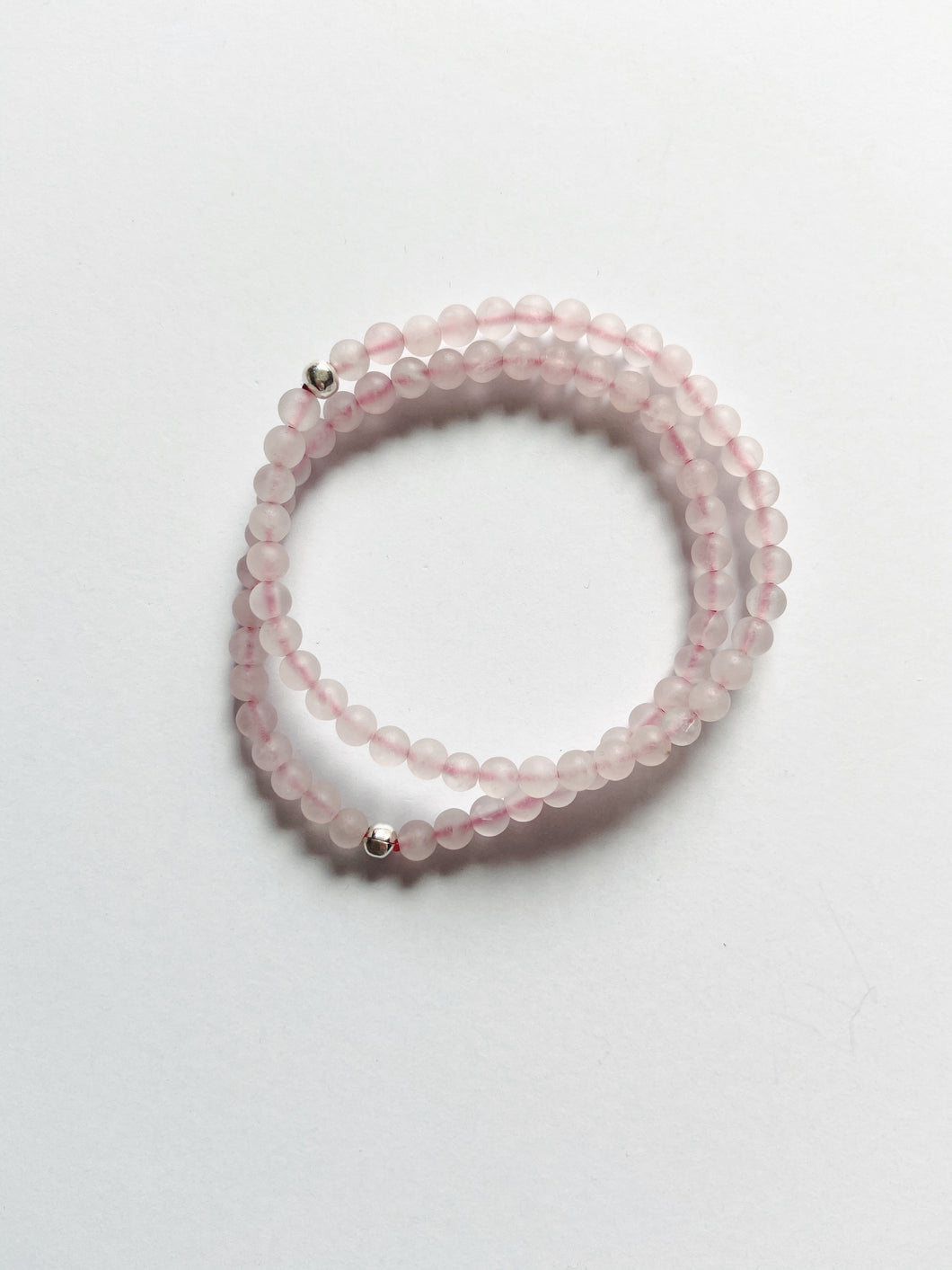 Wax & Wane Rose Quartz Bracelet