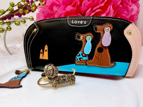 The SHUND Collection Wallet And Key Chain Gift Set