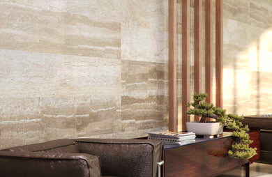 Vox Kerradeco internal wall cladding panel marble botticino