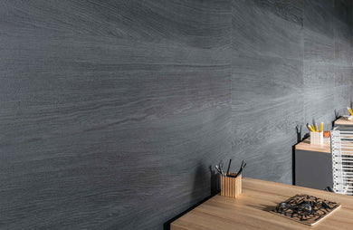 Vox Kerradeco internal waterproof wall cladding panel wood carbon