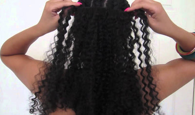DIY Clip-ins in 10 Minutes or Less