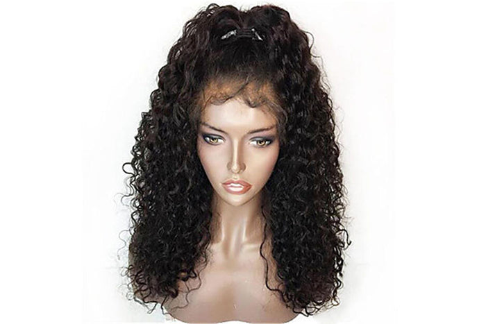 Brazilian Curly Glueless Full Lace Wig