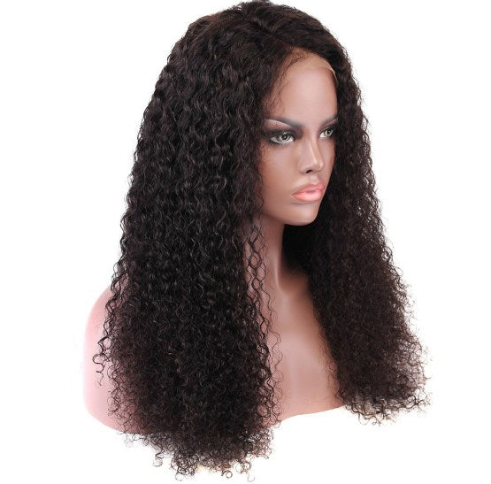 Brazilian Curly Glueless Lace Front Wig