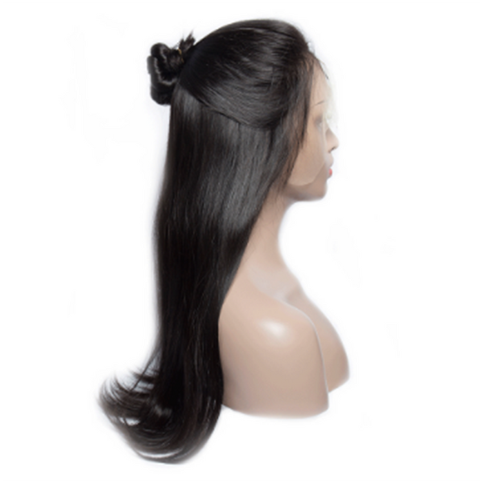 Indian Straight Glueless Full Lace Wig