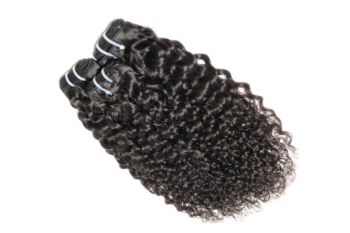 Virgin Natural Wave Human Hair 3 Bundles
