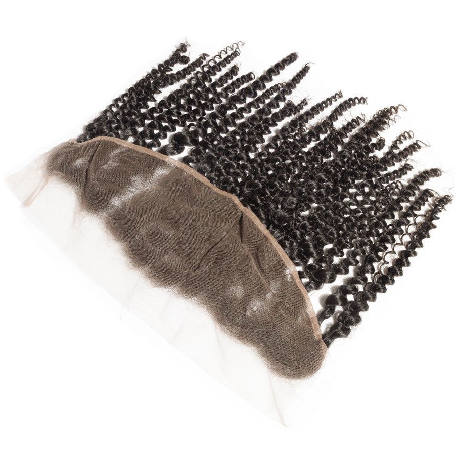 Premium Kinky Hair Collection Lace Frontal