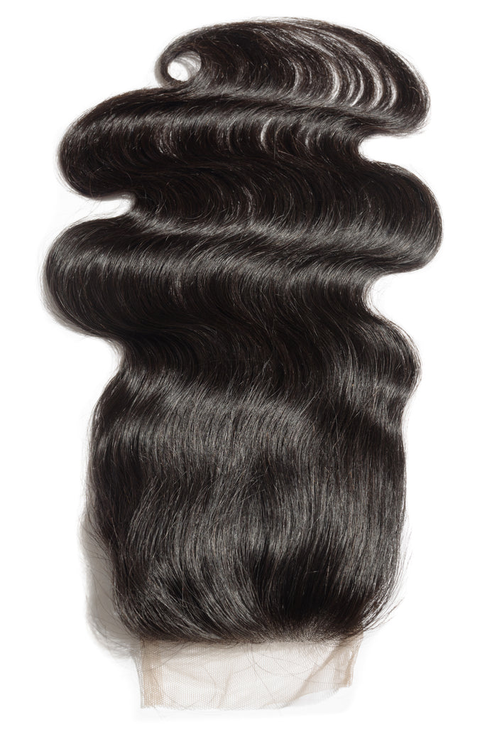 Brazilian Body Wave Lace Closure  4x4 -Wholesale
