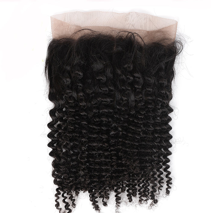 Premium Kinky Hair Collection 360 Lace Frontal