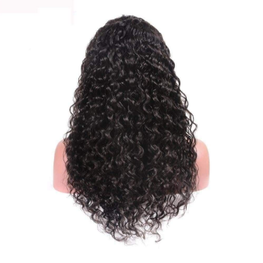 Brazilian Deep Wave Glueless Full Lace Wig
