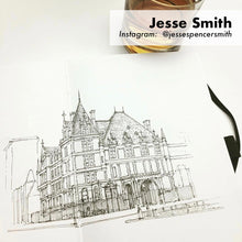 Jesse Smith skethcbook artwork