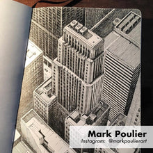 Mark Poulier sketchbook artwork