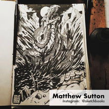 Matthew Sutton sketchbook artwork