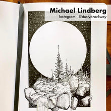MIchael Lindberg sketchbook artwork