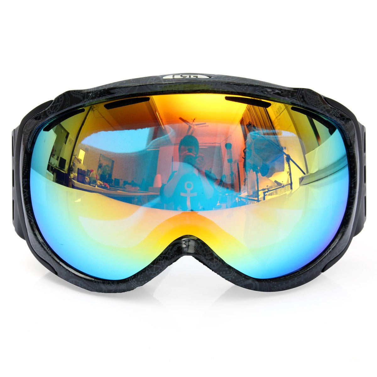 581832bfc0 CRG Spherical Anti-fog Dual Lens Snowboard Ski Goggles - SeasonsTech