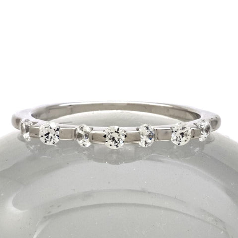Cubic Zirconia Rings/Wedding or Anniversary Band Sterling - PCH Rings