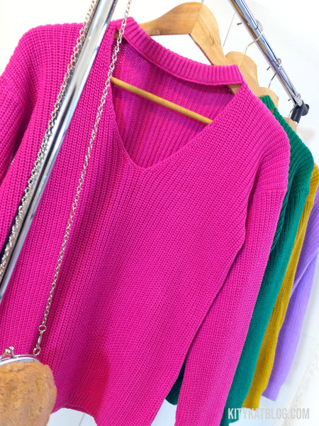 Choker Sweater RAINBOW