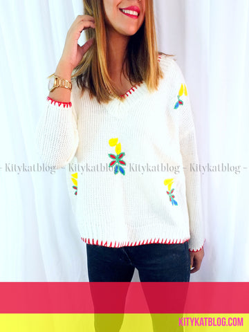 Sweater BORDADO