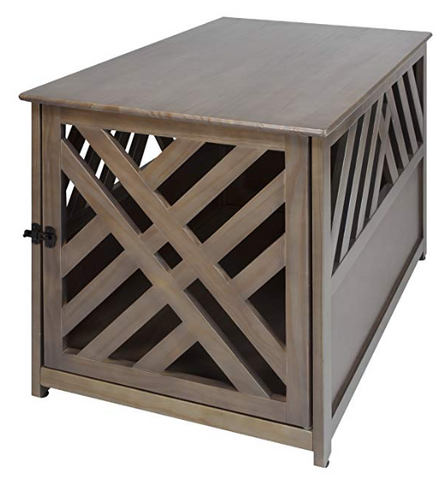 dog crate wood