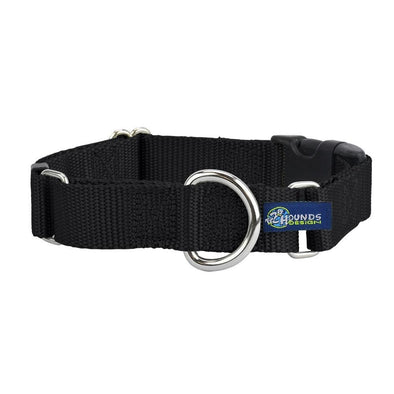 "1"" Buckle Martingale Nylon Collar by 2 Hounds Design-Store For The Dogs"