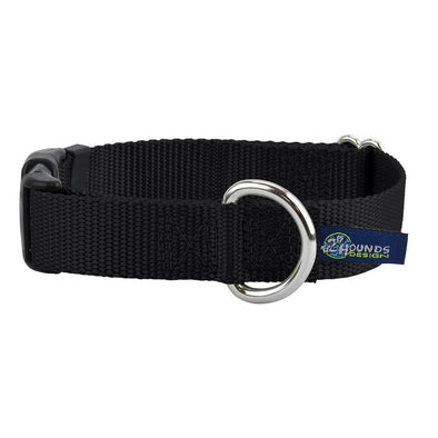 "5/8"" Side Release Nylon Dog Collar by 2 Hounds Design-Store For The Dogs"