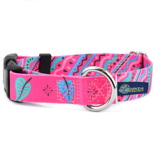 EarthStyle Side Release Dog Collar by 2 Hounds Design-Store For The Dogs