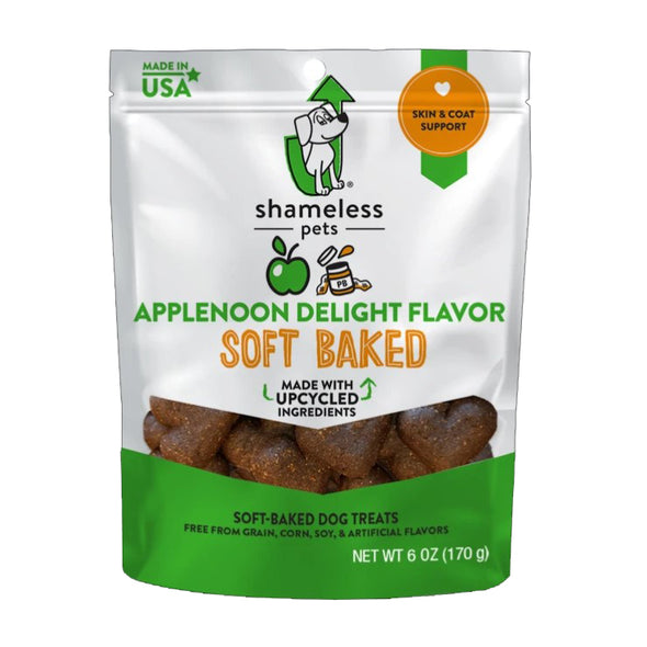 Applenoon Delight Soft Baked Vegan Treat by Shameless Pets-Store For The Dogs