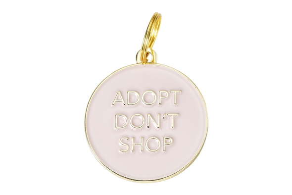 Adopt Don't Shop Tag by Two Tails-Store For The Dogs
