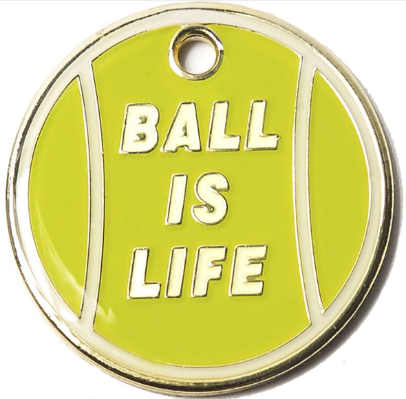 Ball is Life Tag by Trill Paws-Store For The Dogs